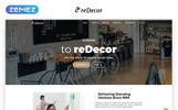 Reszponzív reDecor - House Renovation HTML5 Nyítóoldal sablon