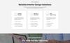 Reszponzív reDecor - House Renovation HTML5 Nyítóoldal sablon Nagy méretű képernyőkép
