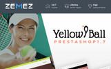 YellowBall - Tennis Store Prestashop Teması