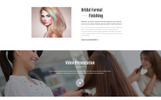 "Website Vorlage namens ""Modern - Vivid Hair Salon Multipage"""
