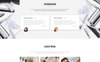Modern - Vivid Hair Salon Multipage Website Template Big Screenshot