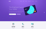 .Bank - Financial HTML5 Landing Page Template