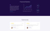 .Bank - Financial HTML5 Landing Page Template Big Screenshot