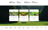 """Beautiful Lawn - Lawn Moving And Gardening"" modèle web adaptatif"