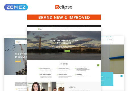 Eclipse Multipurpose HTML5