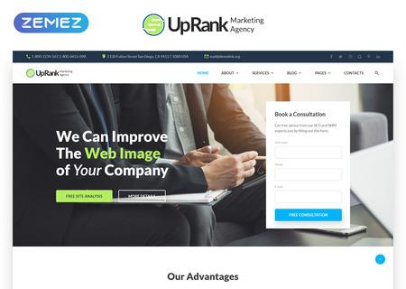 Marketing Company Multipage HTML