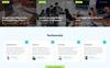Responsive Website Vorlage für Marketing-Agentur  Großer Screenshot
