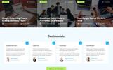 UpRank - Stylish Marketing Agency Multipage Website Template
