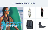 Watersports - Diving Store PrestaShop Theme