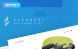 Tema de PrestaShop para Sitio de Tienda de Electrónica