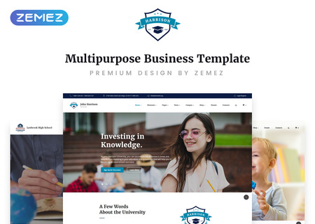 Education Multipage HTML