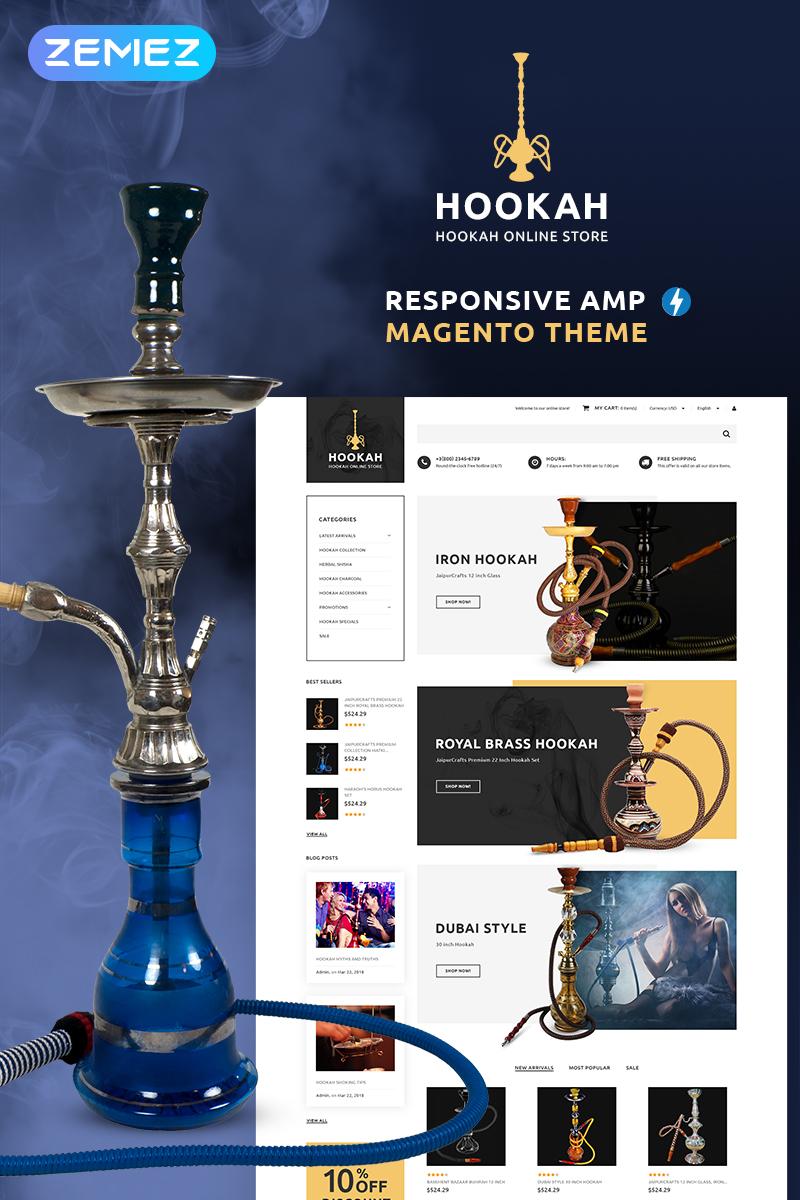 Hookah - Hookah Bar Magento Theme