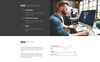 """Audit attent - Business Audit HTML5"" Responsive Landingspagina Template Groot  Screenshot"