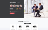 """Audit attent - Business Audit HTML5"" Responsive Landingspagina Template"