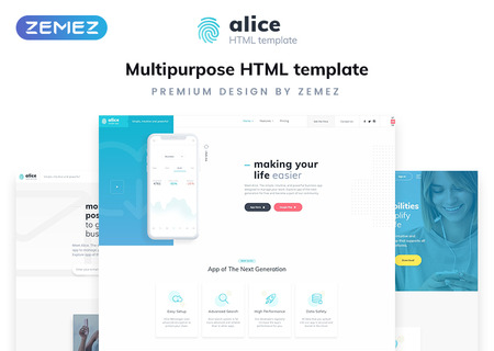 Application Multipurpose HTML5