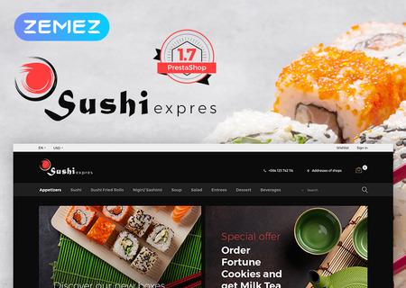 SushiExpress - Restaurant Store