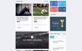 Reebok - Rugby Multipage HTML5 Website Template