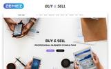 """Responzivní Šablona mikrostránek """"Buy&Sell - Bright Business Consultant HTML"""""""