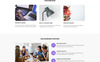 """Landing Page Template namens """"Buy&Sell - Bright Business Consultant HTML"""" Großer Screenshot"""