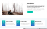 Health First - Calm Mental Health Institution Landing Page Template