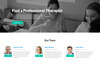 Health First - Calm Mental Health Institution Landing Page Template Big Screenshot