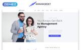 Management - Brilliant Management Company HTML Landing Page Template