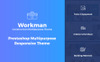 """Workman - Construction Multipurpose"" Responsive PrestaShop Thema Groot  Screenshot"