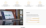 Plantilla para Página de Aterrizaje para Sitio de Consultoría