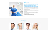 "Landing Page Template namens ""DentaPlus - Accurate Dental Clinic HTML"""
