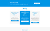 DentaPlus - Accurate Dental Clinic HTML Landing Page Template