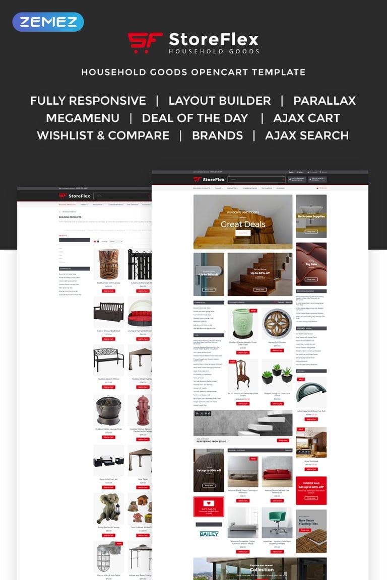Storeflex Responsive OpenCart Template New Screenshots BIG
