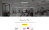 FitTime - Fitness Studio Responsive HTML5 Landing Page Template Big Screenshot