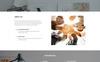 """Шаблон посадочной страницы """"Z Design - Design Studio HTML"""" Большой скриншот"""