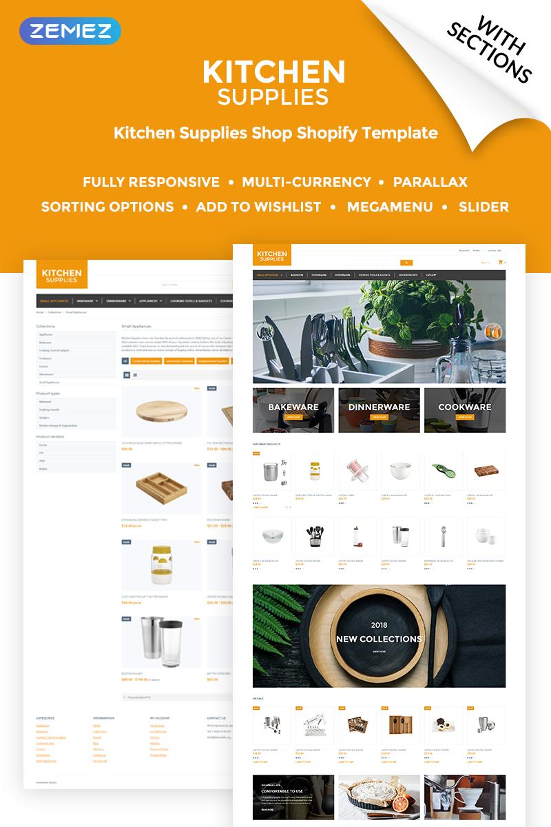 Kitchen Supplies Shopify Theme