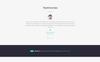 """Шаблон посадочной страницы """"Rhombus - Minimalistic IT Solutions Company"""" Большой скриншот"""
