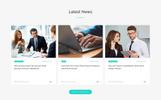 Rhombus - Minimalistic IT Solutions Company Landing Page Template