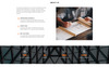 """Edifice - Construction Services HTML"" Responsive Landingspagina Template Groot  Screenshot"