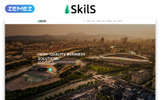 """Skils - Business Services HTML"" 响应式着陆页模板"