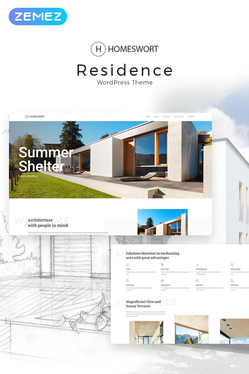 Адаптивный шаблон №71497 на тему недвижимость, агентство недвижимости