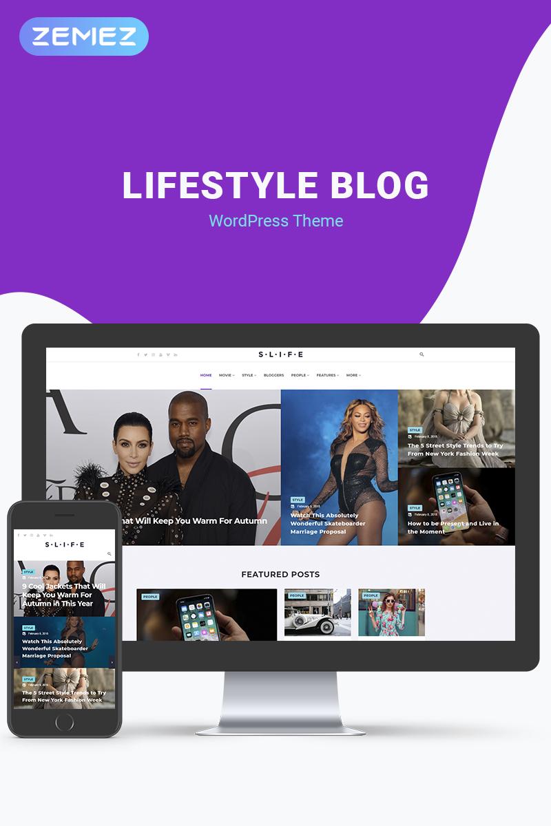 Адаптивный шаблон №71519 на тему бизнес и услуги, медиа-сайт, новостной портал