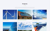 "Landing Page Template namens ""EarthPower - Green Energy HTML5"""