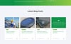 "Landing Page Template namens ""EarthPower - Green Energy HTML5"" Großer Screenshot"