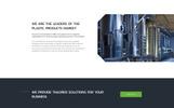 Eco Plast - Plastic Solutions HTML5 Templates de Landing Page  №71569