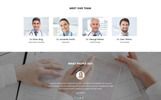 "Tema di Landing Page Responsive #71682 ""MedClinic - Private Medical Clinic HTML5"""