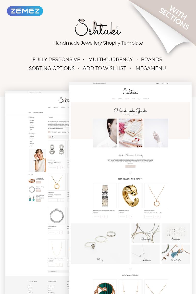 Shtuki - Handmade Goods Shopify Theme