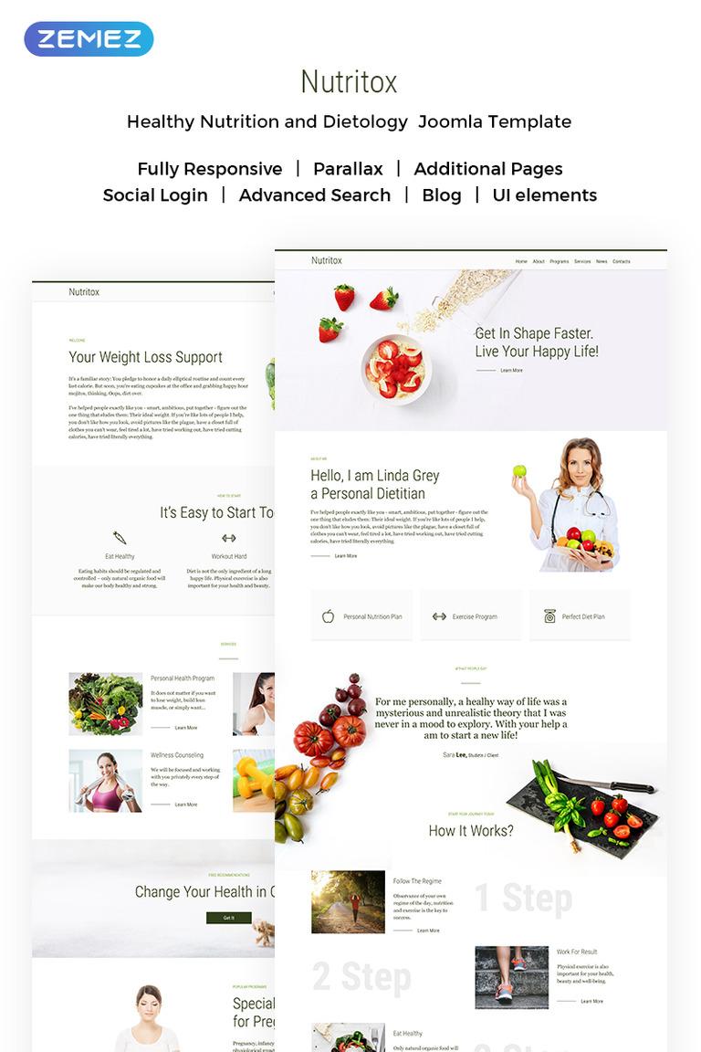 Joomla Vorlage #71847 für Essen und Restaurant