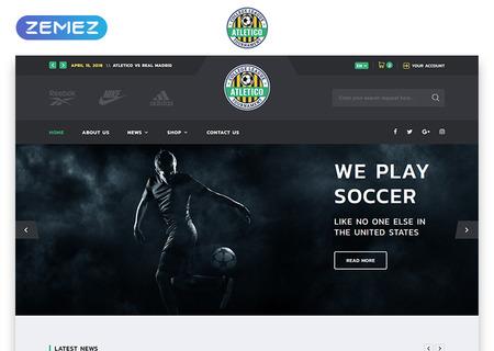 Soccer Multipage HTML5