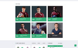 Atletico - Soccer Multipage HTML5 Website Template