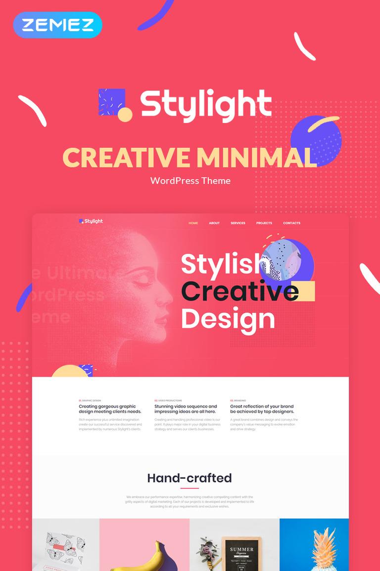 Stylight- Creative Minimal Elementor WordPress Theme