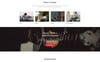"""Guitar Band - Cool Music School HTML"" Responsive Landingspagina Template Groot  Screenshot"
